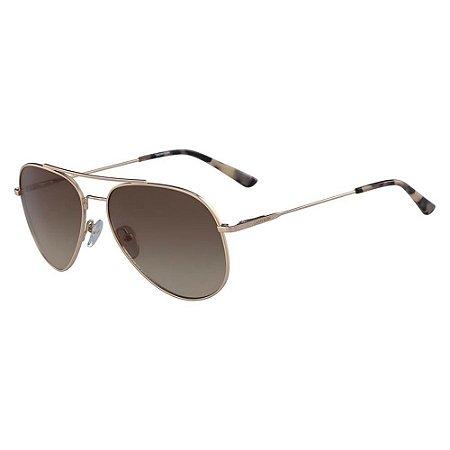 Óculos de Sol Calvin Klein CK18105S 716/57 Dourado