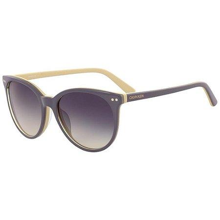 Óculos de Sol Calvin Klein CK18509S 031/55 Cinza/Amarelo