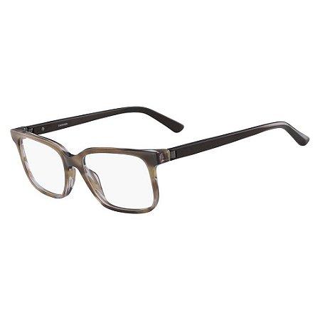 Óculos de Grau Calvin Klein CK8581 263/54 Marrom