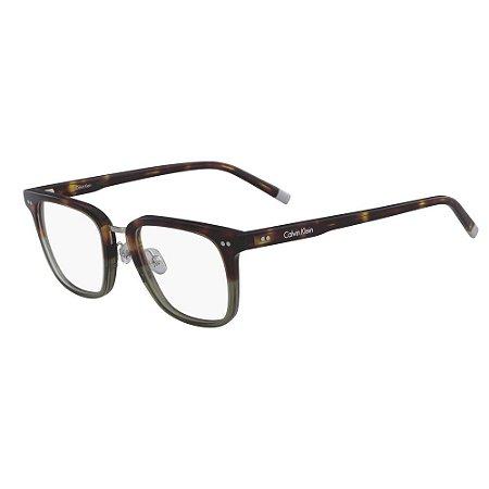 Óculos de Grau Calvin Klein CK6006 217/51 Havana Marrom
