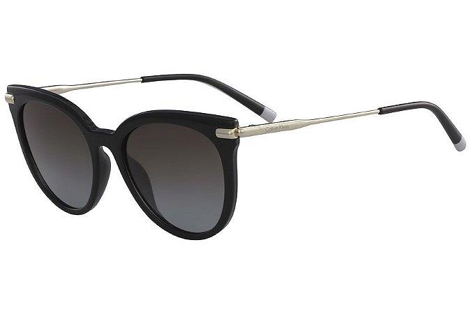 Óculos de Sol Calvin Klein CK3206S 001/53 Preto/Dourado