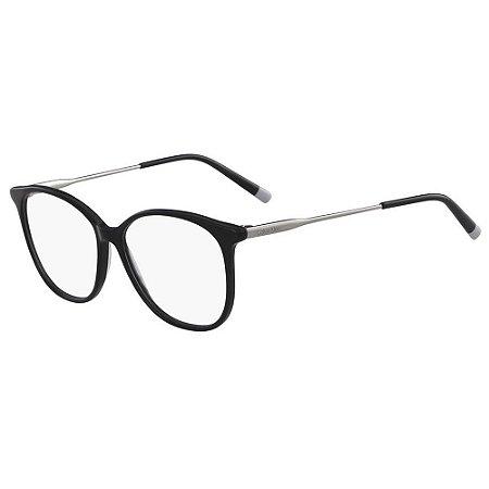 Óculos de Grau Calvin Klein CK5462 001/54 Preto/Prata