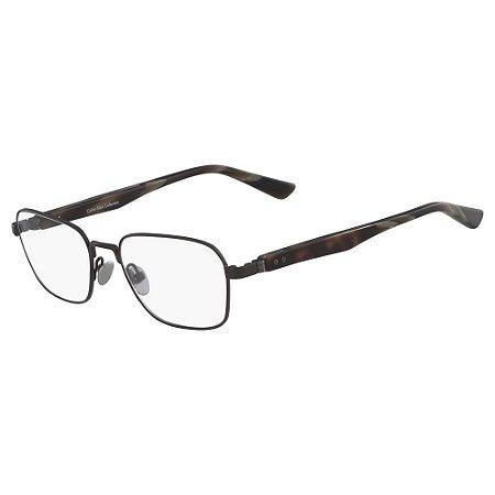 Óculos de Grau Calvin Klein CK8044 223/51 - Marrom