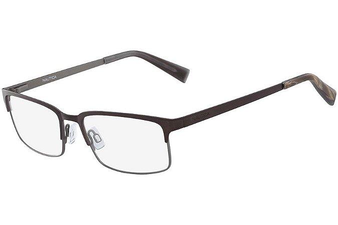 Óculos de Grau Nautica N7270 200/54 Marrom