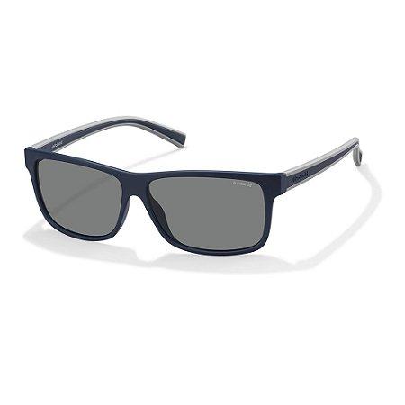 Óculos de Sol Polaroid 2027/S/59 Azul/Cinza