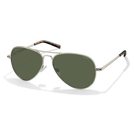 Óculos de Sol Polaroid 1017/S/60 Dourado