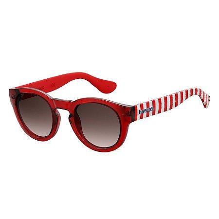 Óculos de Sol Havaianas Trancoso/M/49 -Vermelho