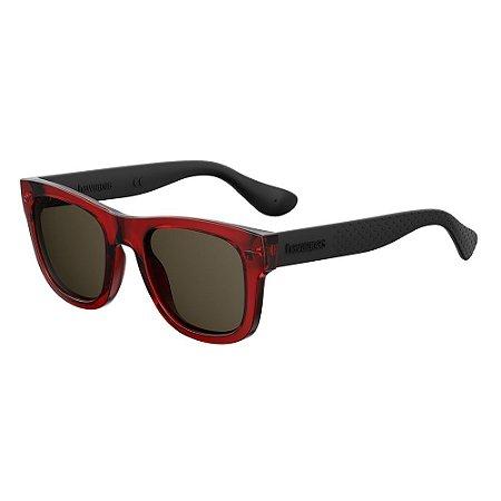 Óculos de Sol Havaianas Paraty/L/52 -Vermelho