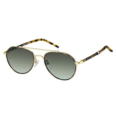 Óculos de Sol Tommy Hilfiger TH 1678/F/S/56 Branco/Dourado