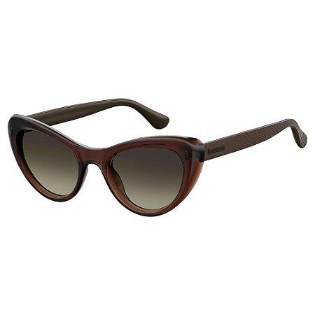 Óculos de Sol Havaianas Conchas/50 -Marrom