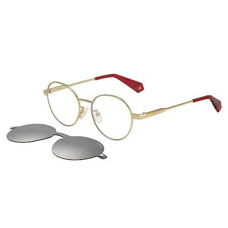 Óculos de Sol Polaroid 6082/G/CS/51 Branco/Dourado