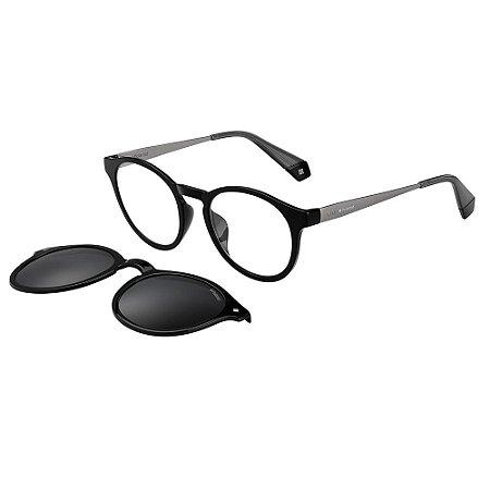 Óculos de Sol Polaroid 6081/G/Cs/49 Preto/Cinza