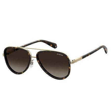 Óculos de Sol Polaroid 2073/S/57 Marrom