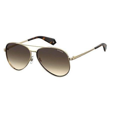 Óculos de Sol Polaroid 6069/S/X/61 Branco/Dourado