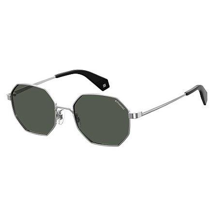 Óculos de Sol Polaroid 6067/S/53 Prata/Preto
