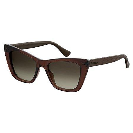 Óculos de Sol Havaianas Canoa/52 -Marrom