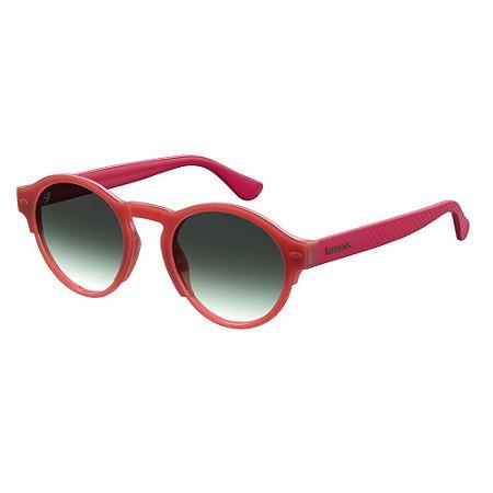 Óculos de Sol Havaianas Caraiva/51 -Vermelho