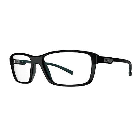 Óculos de Grau HB Polytech 93100/49 Preto/Verde