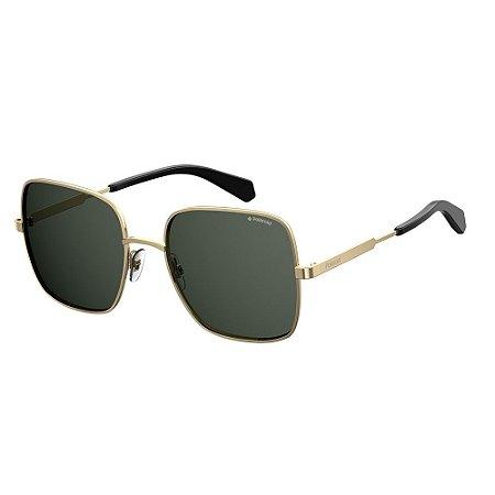 Óculos de Sol Polaroid 6060/S/57 Dourado/Cinza