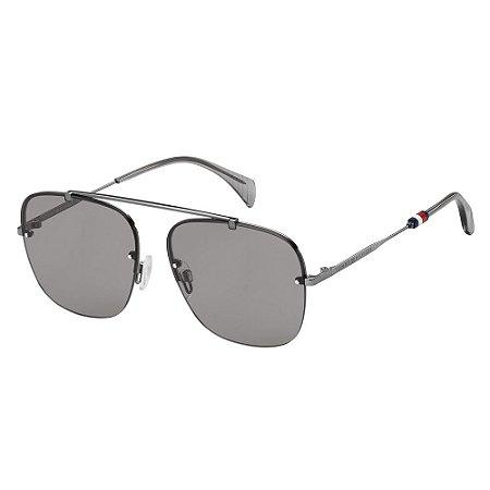 Óculos de Sol Tommy Hilfiger TH 1574/S/59 Cinza Escuro
