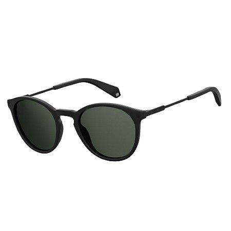 Óculos de Sol Polaroid 2062/S/50 Preto Fosco