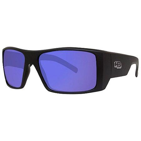 Óculos de Sol HB Rocker 2.0/59 Preto - Lente Azul Espelhado