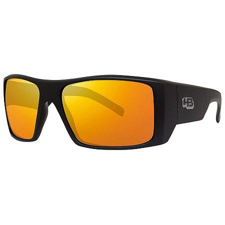 Óculos de Sol HB Rocker 2.0/59 Preto - Lente Vermelho Espelhado
