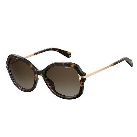 Óculos de Sol Polaroid 4068/S/55 Marrom