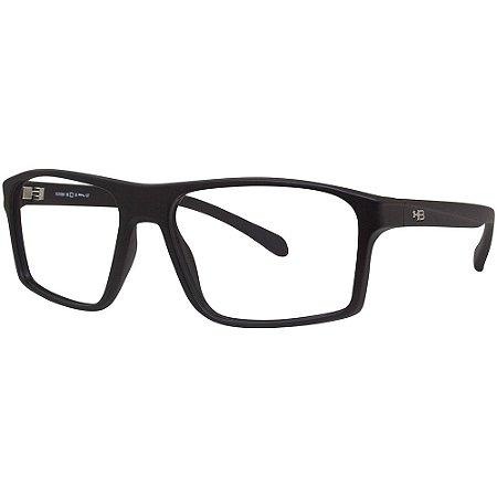 Óculos de Grau HB 0001/54 Preto Fosco