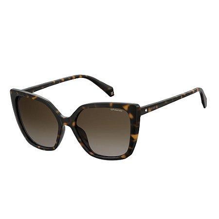 Óculos de Sol Polaroid 4065/S/56 Marrom