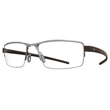 Óculos de Grau HB Mxfusion 93071/53 Cinza Fosco/Café Fosco