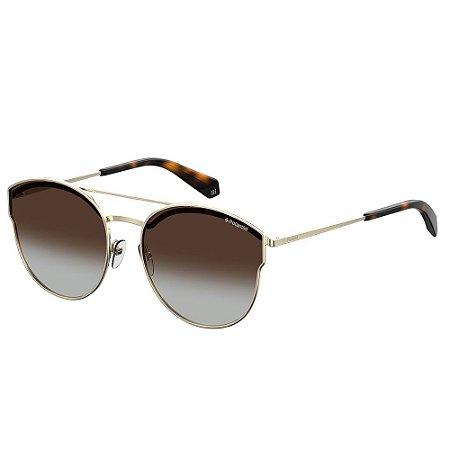 Óculos de Sol Polaroid 4057/S/60 Marrom/Dourado