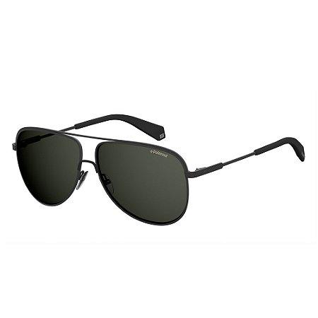 Óculos de Sol Polaroid 2054/S/60 Preto Fosco