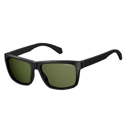 Óculos de Sol Polaroid 2058/S/55 Preto Fosco