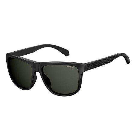 Óculos de Sol Polaroid 2057/S/57 Preto Fosco