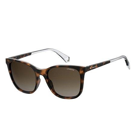 Óculos de Sol Polaroid 4059/S/53 Marrom