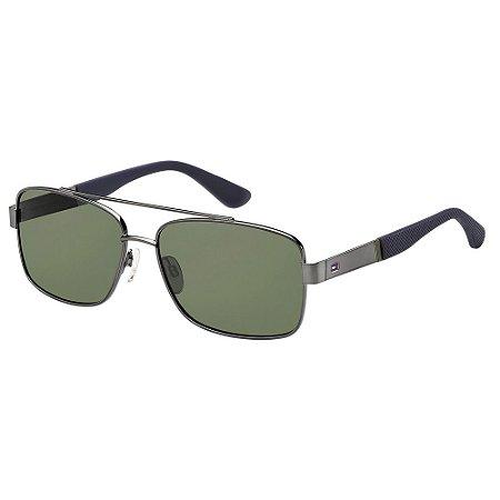 Óculos de Sol Tommy Hilfiger TH 1521/S/59 Cinza Escuro