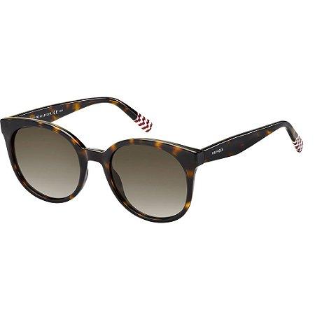 Óculos de Sol Tommy Hilfiger TH 1482/S/52 Vermelho/Havana