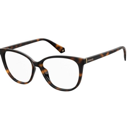 Óculos de Grau Polaroid D372/55 Marrom