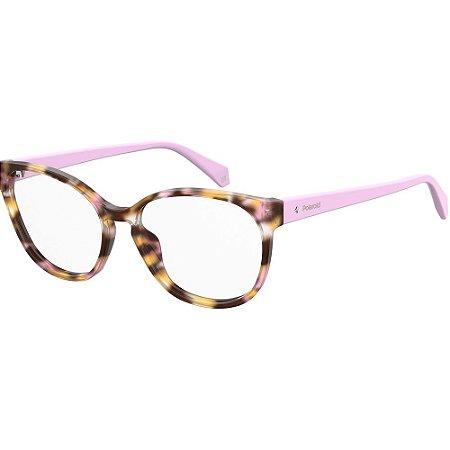 Óculos de Grau Polaroid D371/53 Rosa/Havana