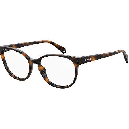 Óculos de Grau Polaroid D371/53 Marrom