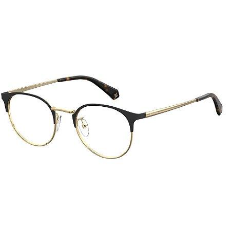 Óculos de Grau Polaroid D367/F/50 Preto/Havana