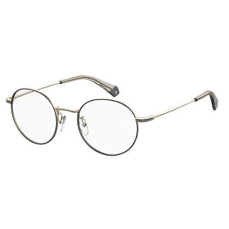 Óculos de Grau Polaroid D361/G/50 Dourado/Cinza