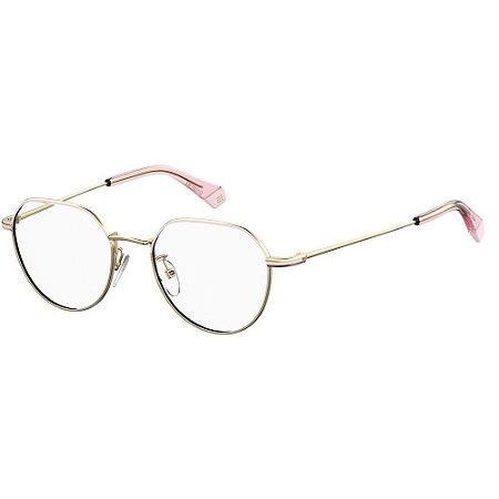 Óculos de Grau Polaroid D362/G/49 Dourado/Rosa
