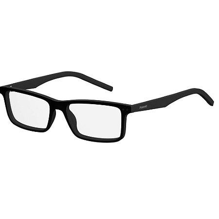 Óculos de Grau Polaroid D336/53 Preto Fosco