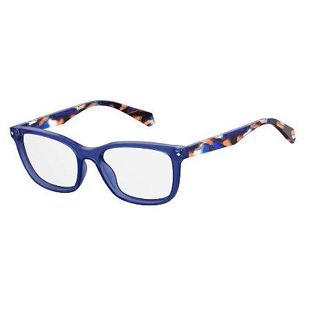 Óculos de Grau Polaroid D338/54 Azul Escuro