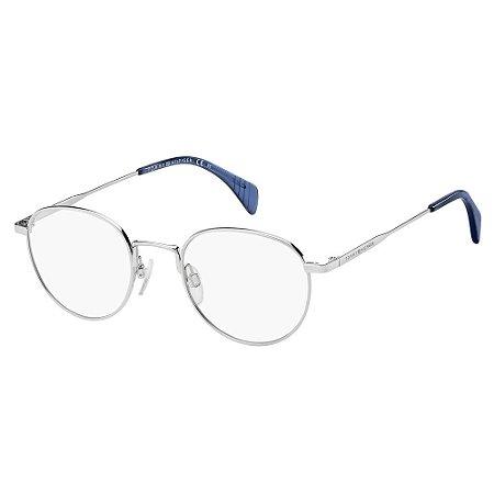 Óculos de Grau Tommy Hilfiger TH 1467/49 Cinza Palladium