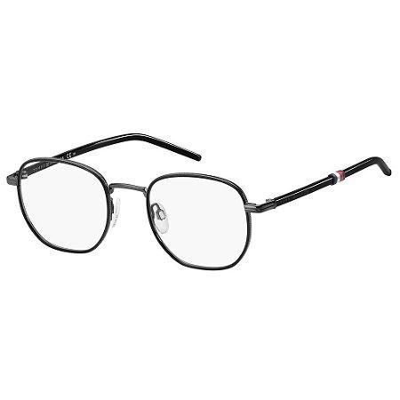 Óculos de Grau Tommy Hilfiger TH 1686/48 Cinza/Preto