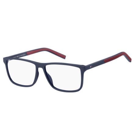 Óculos de Grau Tommy Hilfiger TH 1696/55 Azul/Vermelho
