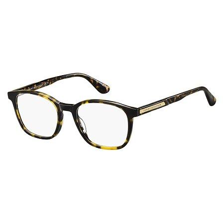 Óculos de Grau Tommy Hilfiger TH 1704/51 Havana Escuro